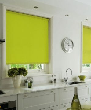 bright-lime-green-roller-blind